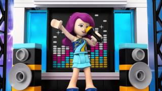 Pop Star TV Studio - LEGO Friends - Animation 41117