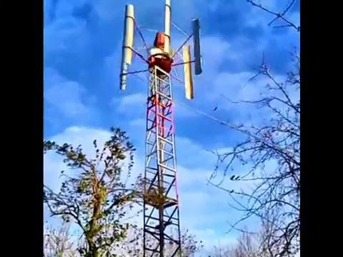 Ютуб ветрогенератор своими руками