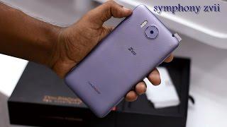 Symphony xplorer zvii/ z7 (3Gb) full Review.
