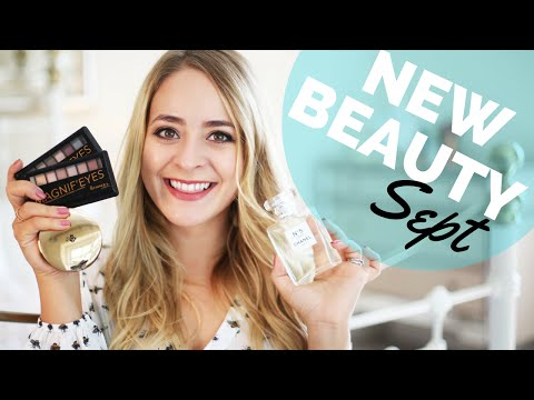 New In Beauty Sept 2016