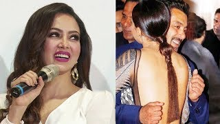 Sana Khan React On Salman khan's Shy & Uncomfortable Hugging Moment With Her