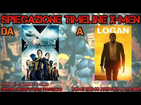SPIEGAZIONE LINEA TEMPORALE DELLA SAGA X-MEN