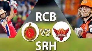 VIVO IPL 2017 RCB Vs SRH match highlights