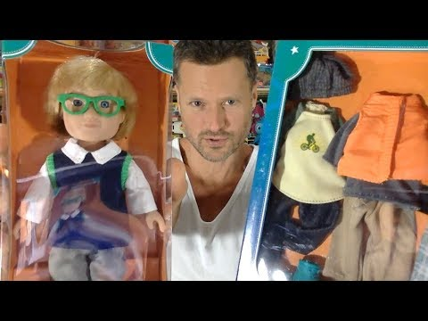 My Life As Mini School Boy Doll & Mini Outdoorsy Boy Outfits Unboxing Review