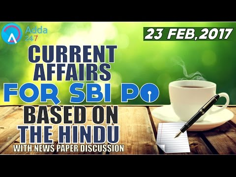 Xxx Mp4 SBI PO 2017 CURRENT AFFAIRS FOR SBI PO BASED ON THE HINDU 3gp Sex