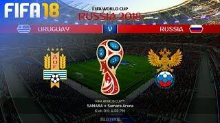 FIFA 18 World Cup - Uruguay vs. Russia @ Samara Arena (Group A)