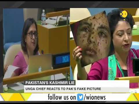 Xxx Mp4 UNGA Chief Reacts To Pakistan S Fake Picture 3gp Sex