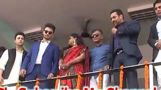 Salman Khan Dancing Himachali Dance  Luddi,,,,,The MAndyali Dance...