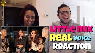 Little Mix - Real Voice (Without Auto-Tune) Reaction