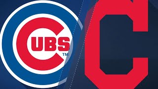 Indians homer their way past the Cubs: 4/25/18