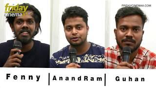 MeesayaMurukku Stars Fenny , AnandRam & Guhan shares their experience Working with HipHopTamizha !