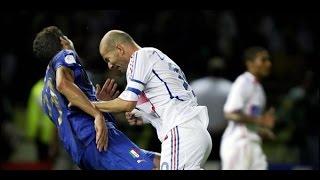 বিশ্বকাপ ফুটবলের ফাইনাল জিদানের লাল কার্ড (Zinedine Zidane)