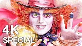ALICE THROUGH THE LOOKING GLASS Trailer, Clips & Featurette (2016) Disney Movie