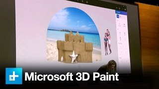 Microsoft 3D Paint and 3D Powerpoint - Full Announcement