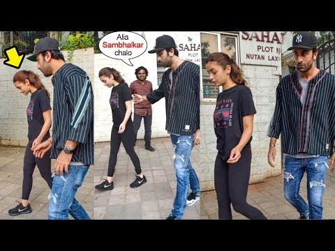 Xxx Mp4 Ranbir Kapoor Shows LOVE Amp CARE For Girlfriend Alia Bhatt For The FIRST Time After Her Leg Injury 3gp Sex