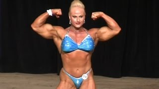 Nuriye Evans Wins Women's Bodybuilding Overall 2016 NPC Southern States
