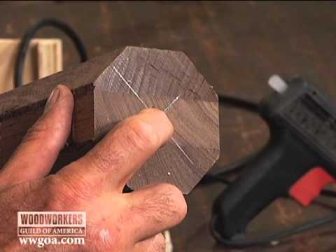 Woodworking Tips Router How to Turn a Cylinder with a Router