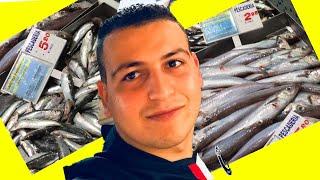 شاهد الفرق شاسع في اثمنة السمك مقارنةً بين اسبانية و المغرب