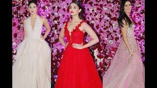 Katrina Kaif, Alia Bhatt, Kareena Kapoor At Lux Golden Rose Awards 2017