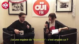 Paul Taylor en interview au micro de Marjorie Hache pour UK Beats (22h-23h) sur OÜI FM