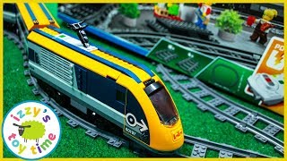 LEGO PASSENGER TRAIN! Fun Toy Trains for Kids!