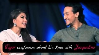 Tiger confesses that he couldn't stop kissing Jacqueline Fernandez!!