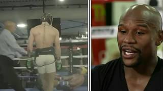 Floyd Mayweather: I Saw Conor McGregor Being Extremely Dirty In Paulie Malignaggi Sparring Video