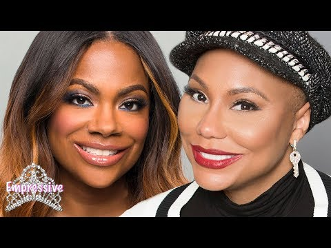 Tamar Braxton feuding with Kandi Burruss on Celebrity Big Brother