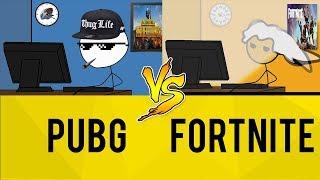 PUBG Gamers vs Fortnite Gamers