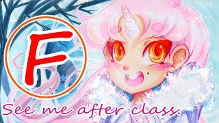 My Art Teachers HATE Anime And/Or Me
