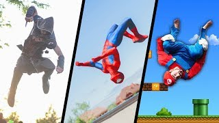 Video Games & Superheroes In Real Life  (Spiderman, Mario, Deadpool, Assassin