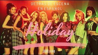 Holiday Girls' Generation MV Detrás de escena en español