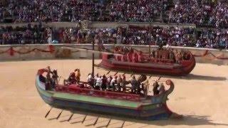 Les grands jeux Romains de 2016 dans les #arènes de #Nimes