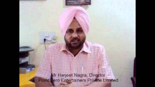 Video Testimonial By Mr Harjeet Nagra, Director, Point Zero Entertainers (P) Limited