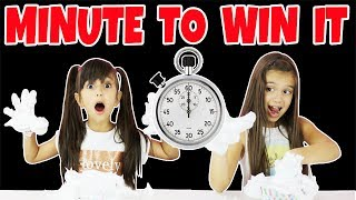 MINUTE TO WIN IT Challenge