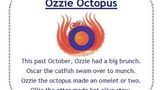 Alphafriends: Ozzie Octopus