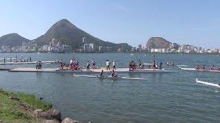 Rio-2016: en remo preocupa más el viento que la contaminación