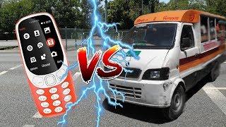 Nokia 3310 VS লেগুনা + ট্রাক | দেশি মোবাইল অত্যাচার ভিডিও | 4K | ATC