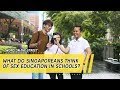 What Do Singaporeans Think of Sex Education in Schools? | Word On The Street