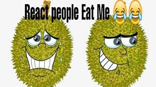 [FUNNY VIDEO]Video of people's reactions when eating Durian/Reaksi bule saat makan durian