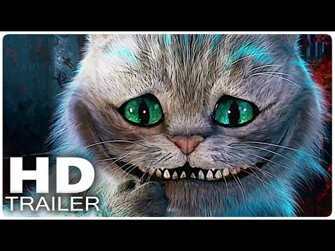 ALICE IN WONDERLAND 2 Through the Looking Glass All Trailer Clips Disney Movie 2016