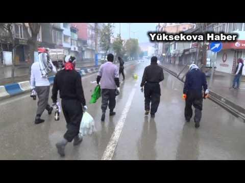 Yüksekova da IŞİD gerginliği