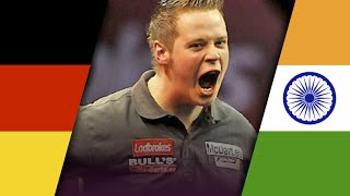 Darts World Cup 2015: Germany vs India | 1st Round | German