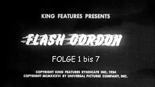 Flash Gordon - Folge 1 bis 7 - Deutsch