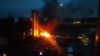 11.5. 2017 Požiar na sídlisku, autentické zábery!