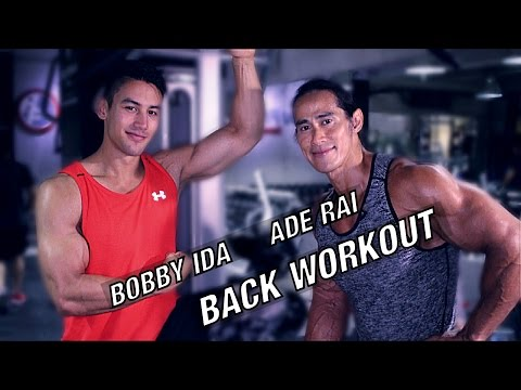 Xxx Mp4 BACK WORKOUT SAMA ADE RAI DAN BOBBY IDA LATIHAN PUNGGUNG DI GYM 3gp Sex