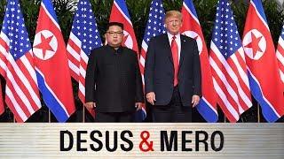 Donald Trump and Kim Jong Un Meet