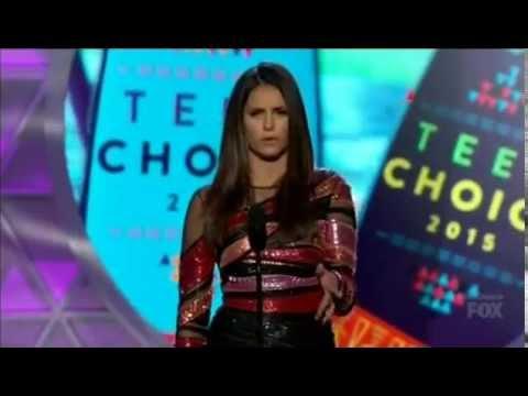 Nina Dobrev Won Choice TV Actress Sci-Fi for TVD
