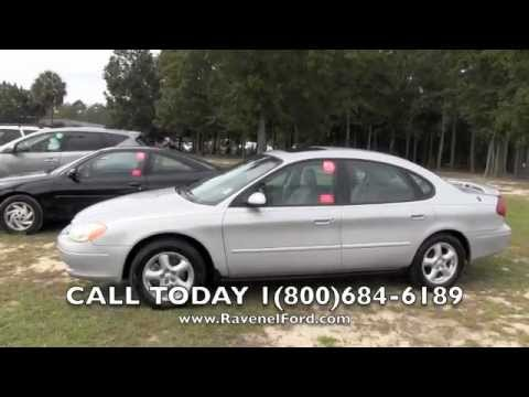 2003 FORD TAURUS SES Review Car Videos * Leather Moonroof * For Sale @ Ravenel Ford Charleston SC