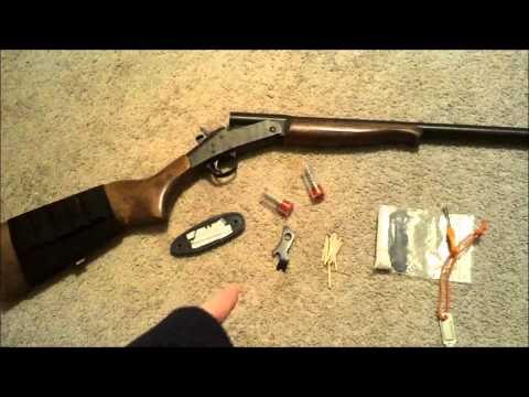 new england firearms 12 gauge survival setup